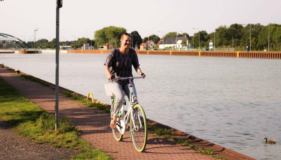 Radeln am Dortmund-Ems-Kanal